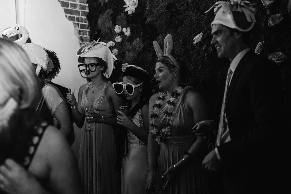 Photo Booth at Colorado wedding. Moss Denver wedding.