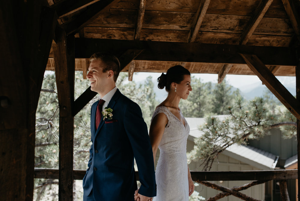 First look, 3M curve Rocky Mountain National Park elopement