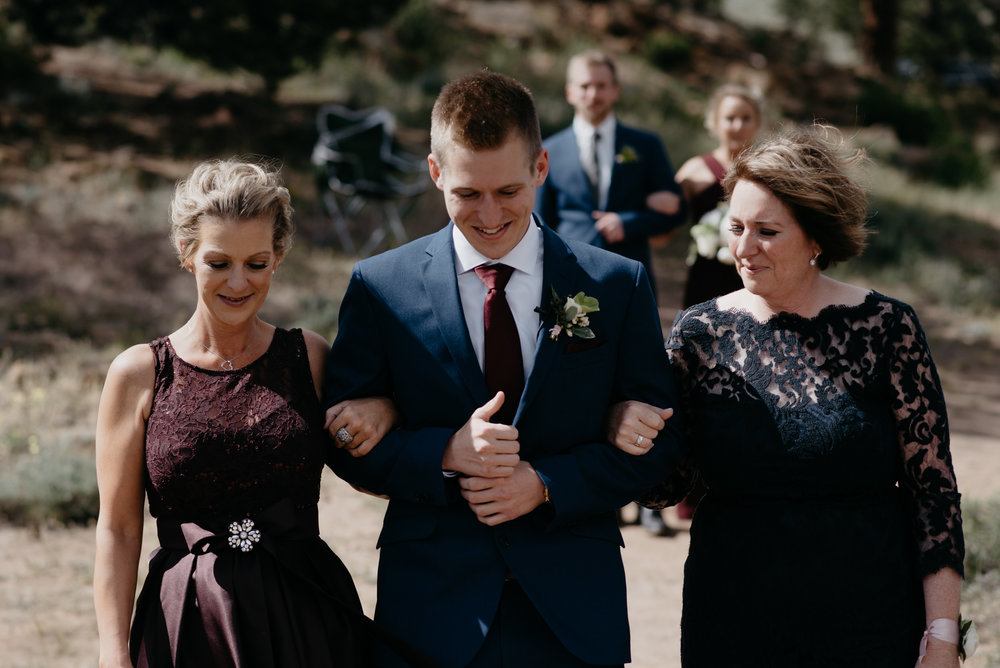 3M Curve, Estes Park wedding photographer. Rocky Mountain National Park elopement. Colorado wedding photographer.