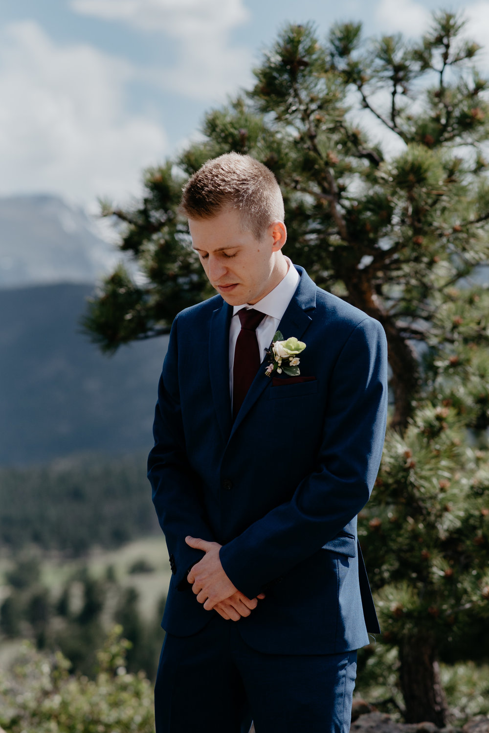 3M Curve, Estes Park. Rocky Mountain National Park elopement photography. Colorado wedding photography.