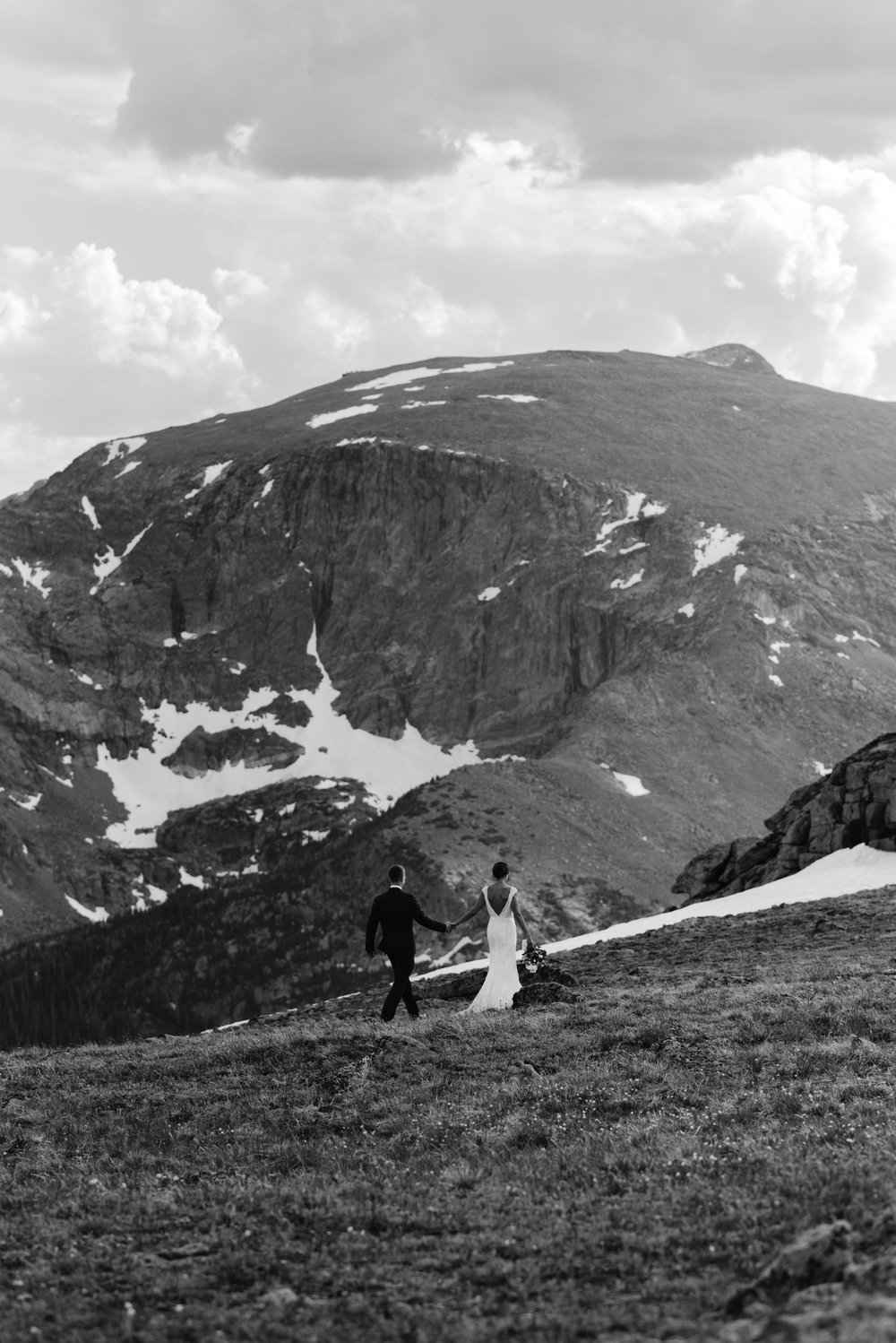 Trail Ridge Road, Rocky Mountain National Park. Colorado elopement photographer.