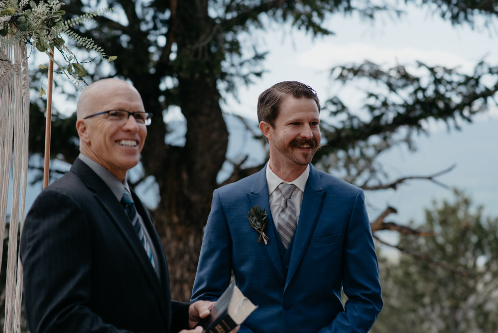 Sapphire Point elopement in Colorado. Colorado wedding and elopement photographer.