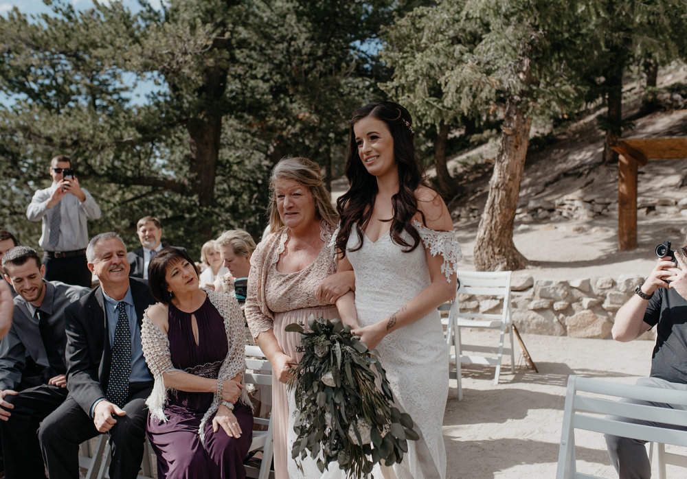 Sapphire Point elopement photos. Colorado elopement photographer.