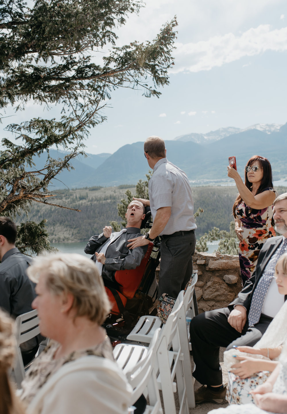 Sapphire Point elopement photography. Breckenridge, Colorado wedding photographer.