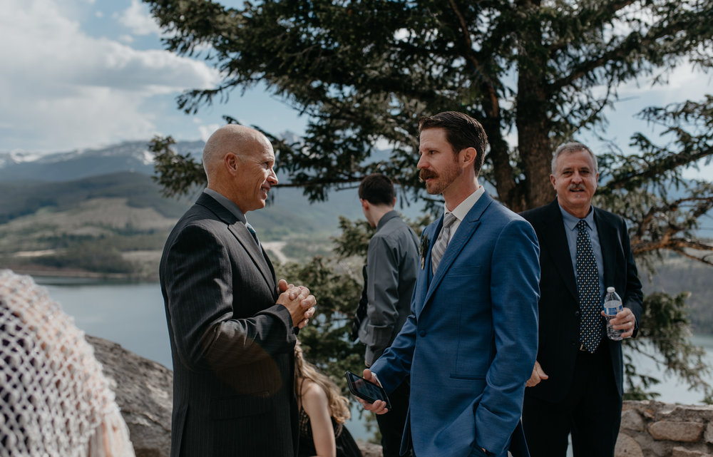 Colorado mountain elopement and wedding photographer