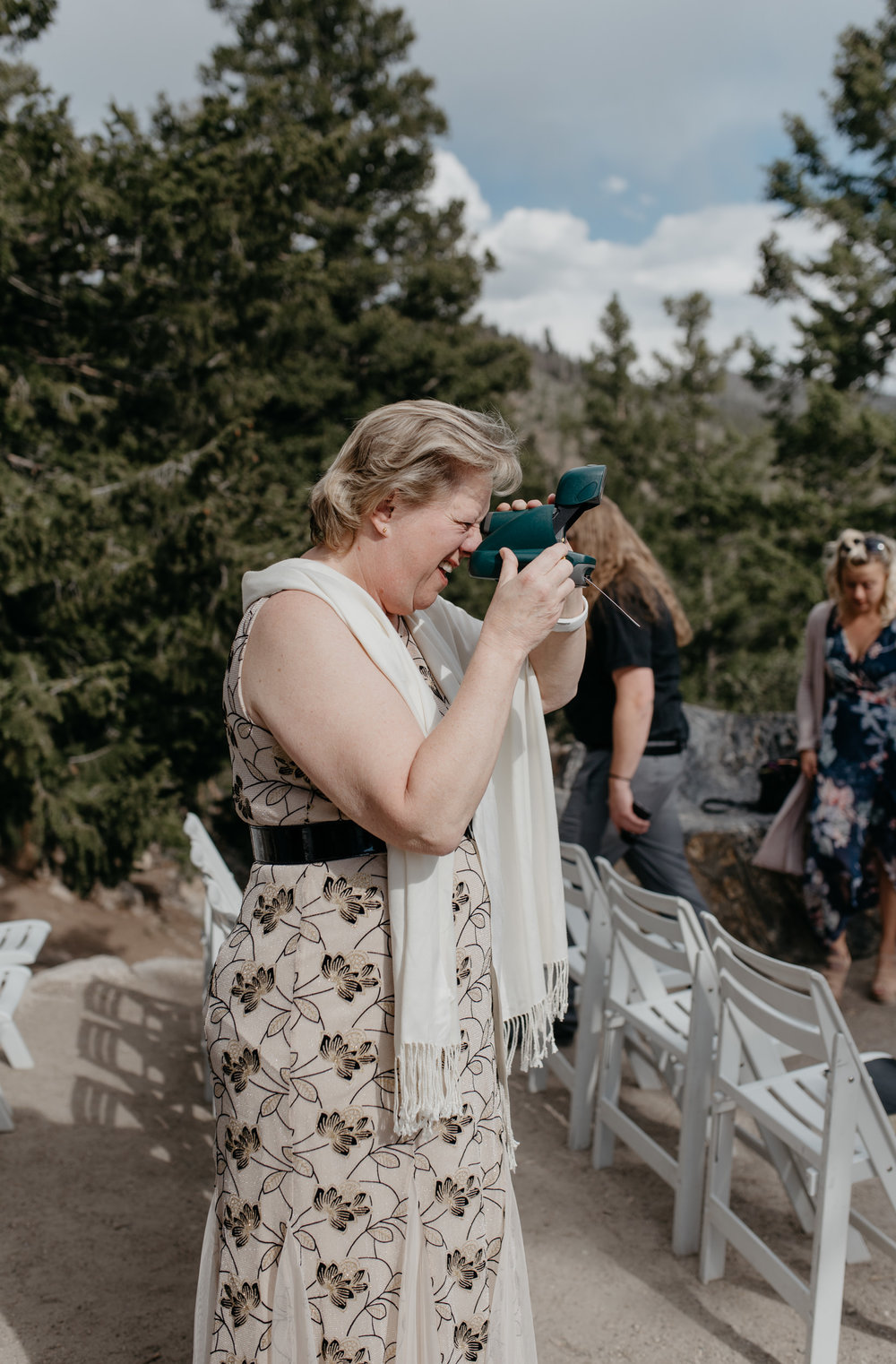Colorado mountain wedding and elopement photographer. Breckenridge, Colorado wedding photographer.