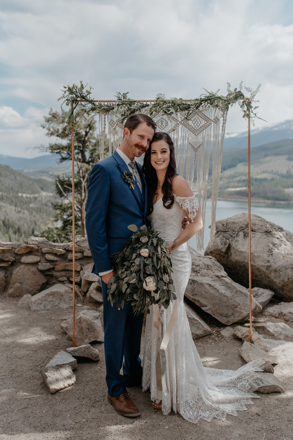 Colorado mountain wedding photography. Breckenridge, Colorado elopement photographer.