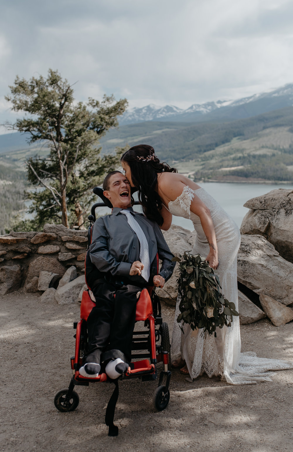 Breckenridge, Colorado elopement photos.