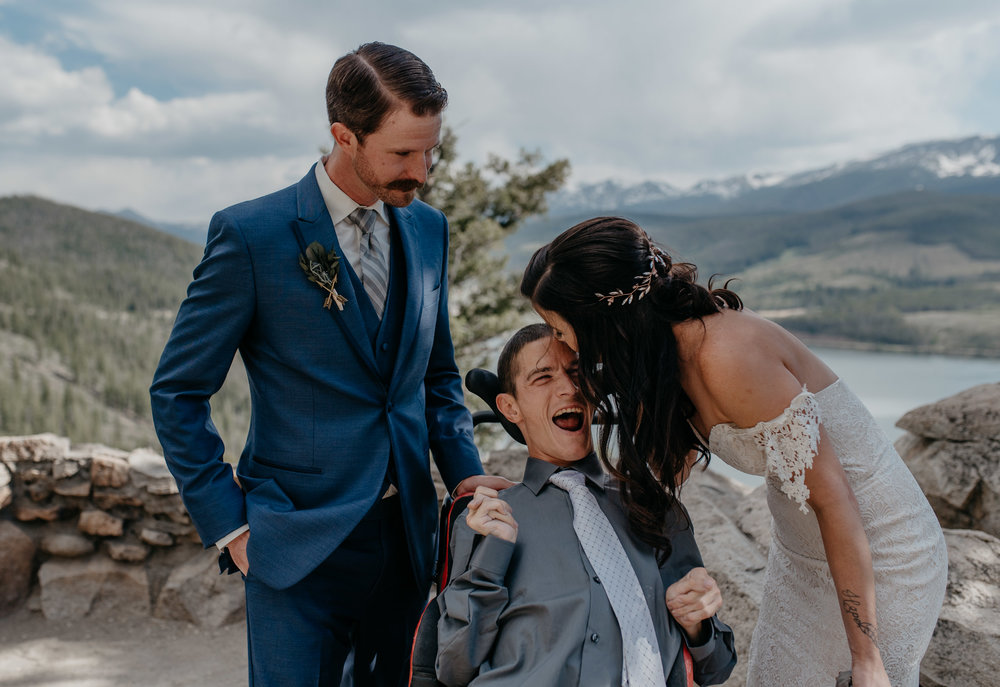 Breckenridge wedding and elopement photographer.
