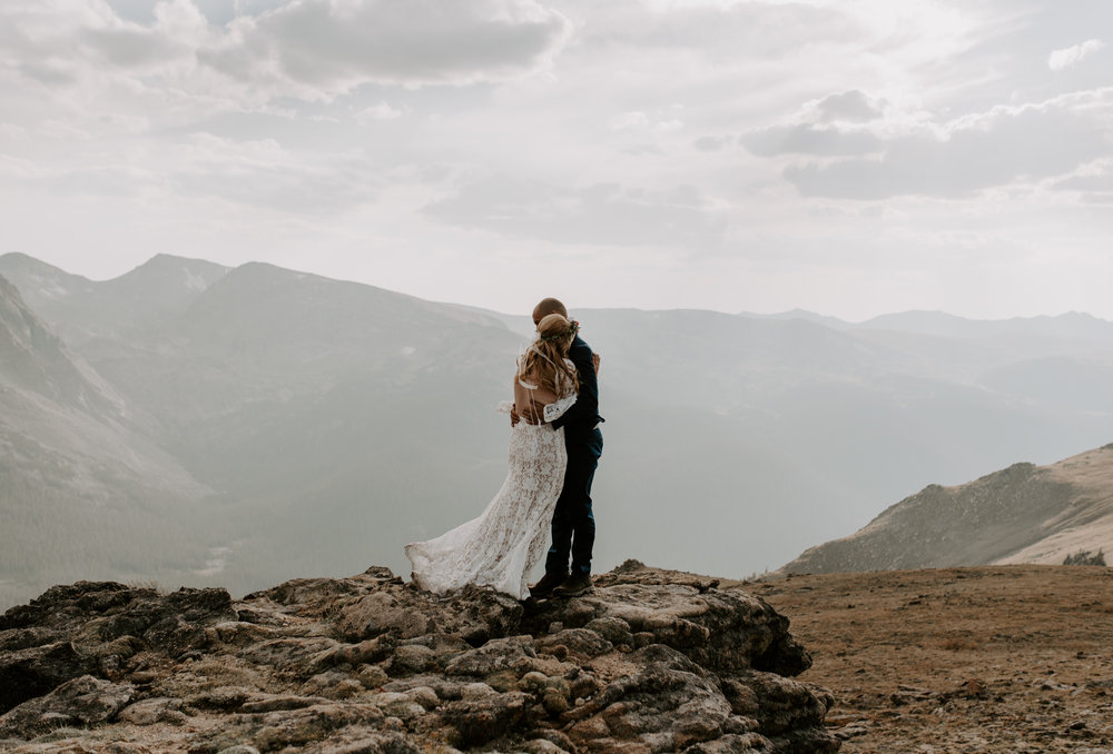 """Omg!!! You're amazing!!! I watched the video 3 times and just kept crying!! The pictures are so beautiful and I love how you caught all the quirkiness that we have together. Thank you so much! Seeing them makes me so glad that we eloped and we definitely fell in love with Colorado while we there and want to return soon. I cannot thank you enough for the help and advice you gave us along the way! You really are the best!! I am so appreciative that we were able to connect and have you share our day with us!!"" - Lizzy"