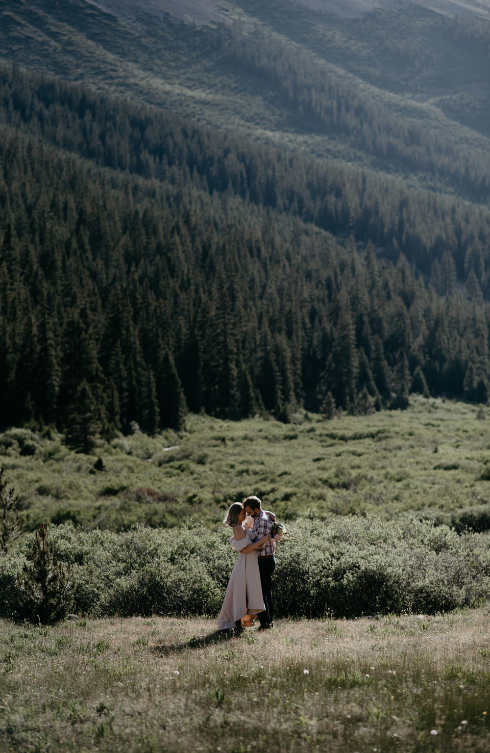 Aspen, CO wedding photographer. Aspen elopement at Independence Pass.