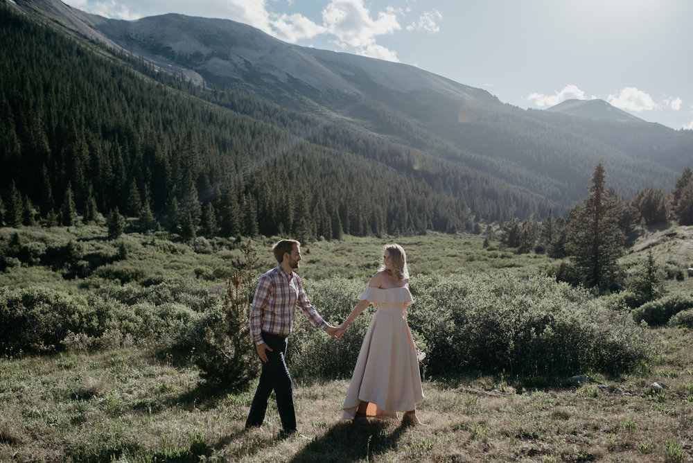 Aspen, Colorado destination wedding. Colorado based elopement and wedding photographer.