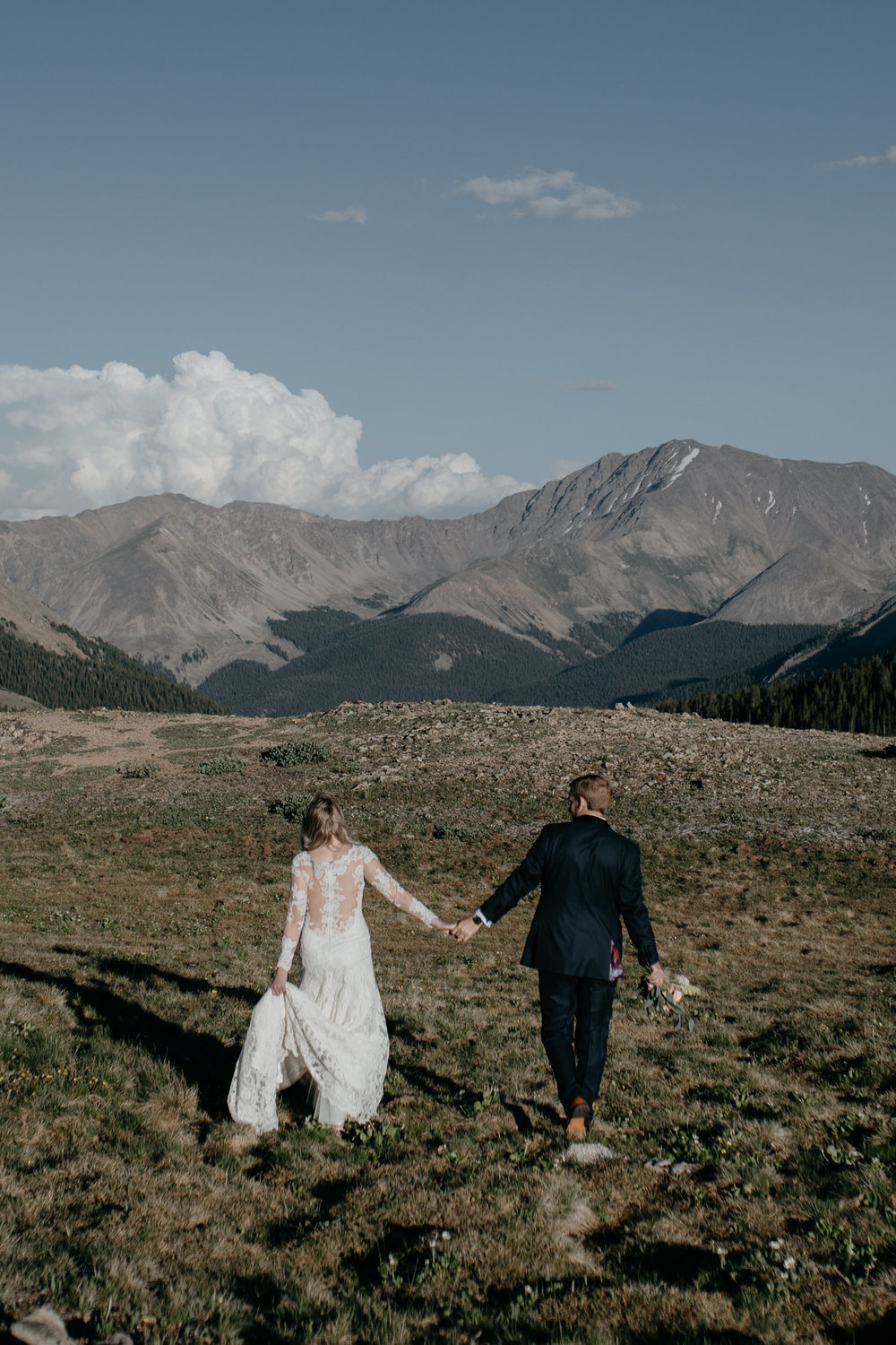 Colorado mountain elopement and wedding photographer.