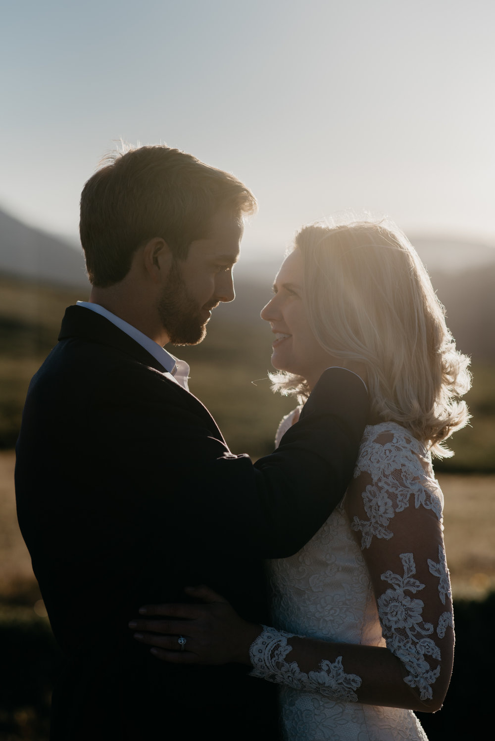 Colorado elopement and wedding photography. Aspen wedding photographer.