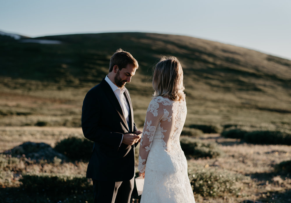Colorado mountain wedding photographer. Destination wedding photographer.