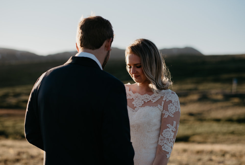 Mountain elopement photographer based in Colorado.