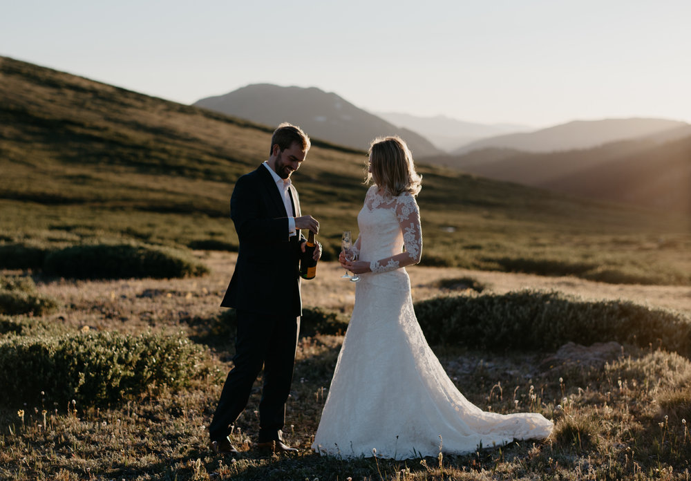 Alyssa Reinhold, Colorado based elopement and wedding photographer.