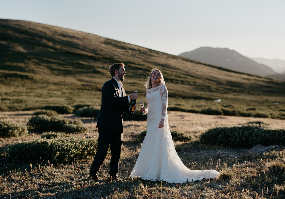 Aspen, CO wedding photographer. Independence Pass elopement.