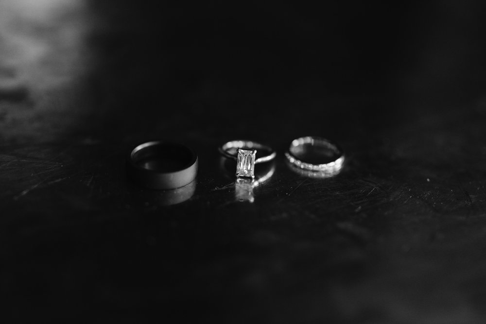 Wedding ring detail shot. Aspen, CO wedding photographer.