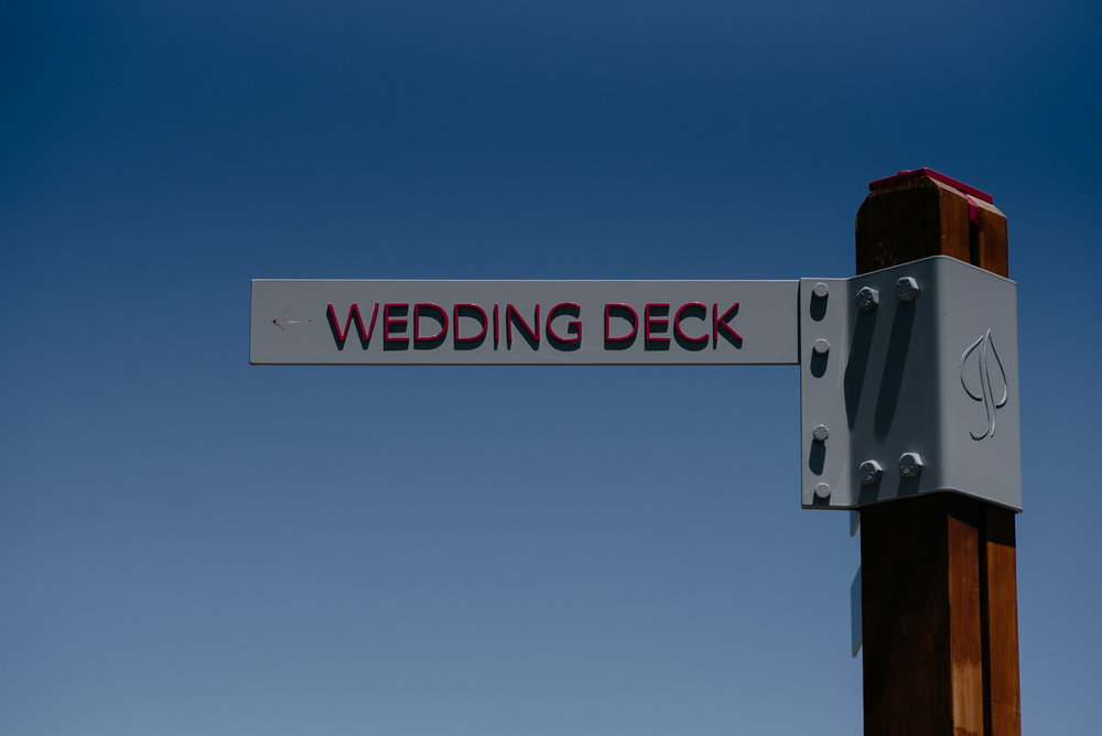Aspen, Colorado wedding photographer. Aspen wedding deck.