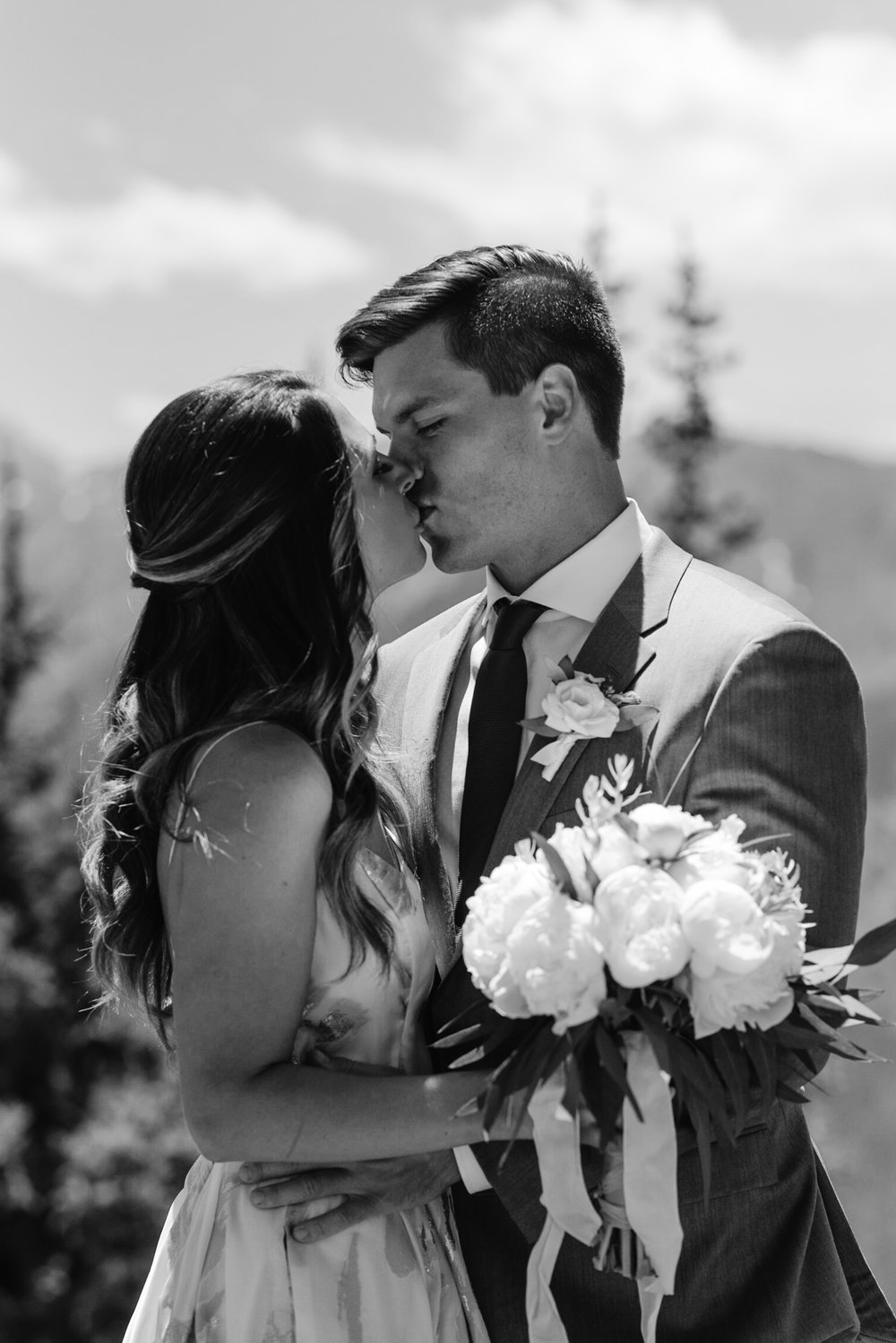 Aspen, Colorado elopement photographer. The Little Nell wedding.