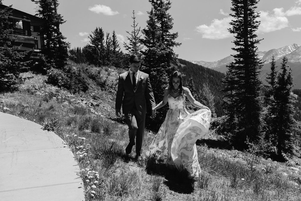 Wedding at The Little Nell. Aspen, Colorado wedding and elopement photographer.