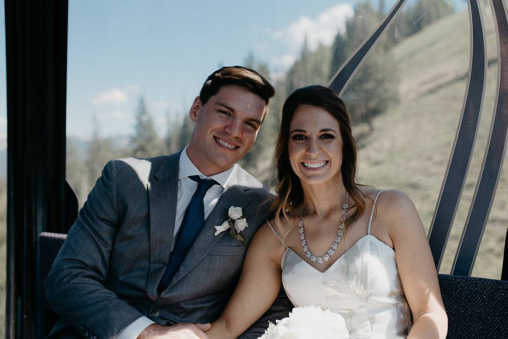Colorado based adventure elopement wedding photographer.