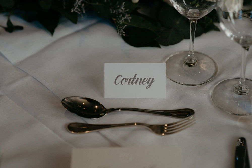 Reception detail inspiration. Colorado wedding and elopement photographer.