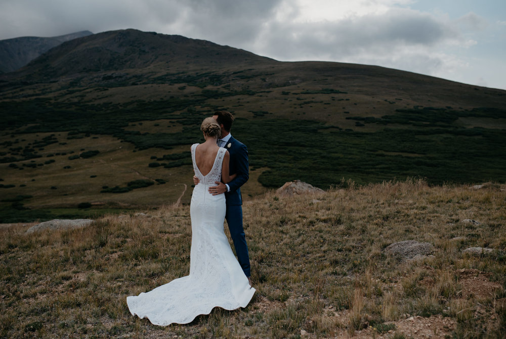 Colorado mountain wedding photographer for Breckenridge, Vail, and Estes Park