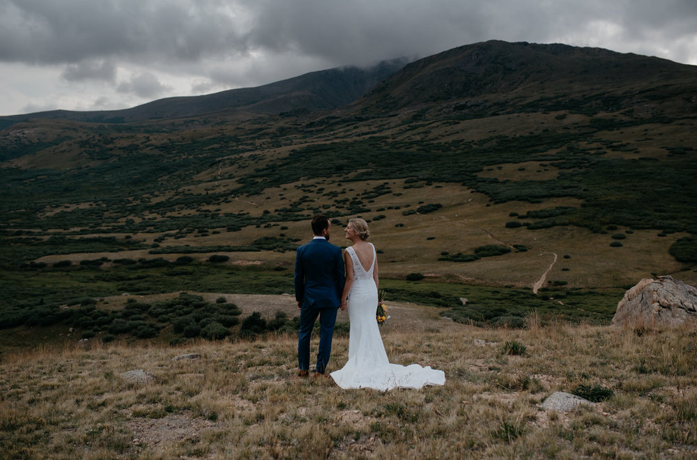 Guanella Pass, a Colorado elopement location