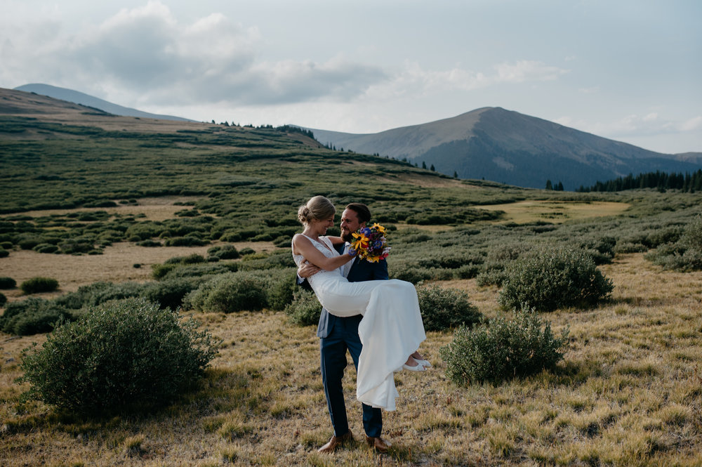 Denver, Colorado based elopement and wedding photographer.