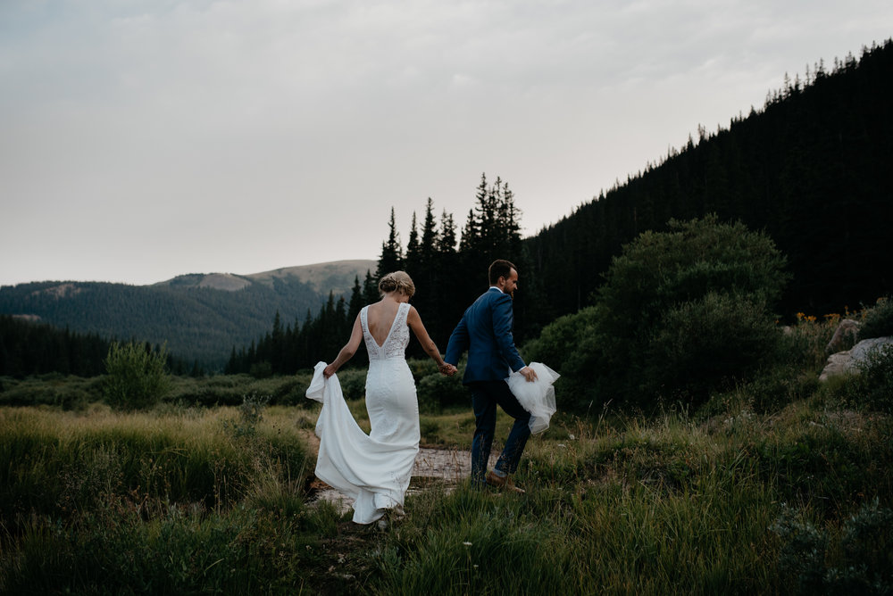 Colorado based adventure wedding and elopement photographer.