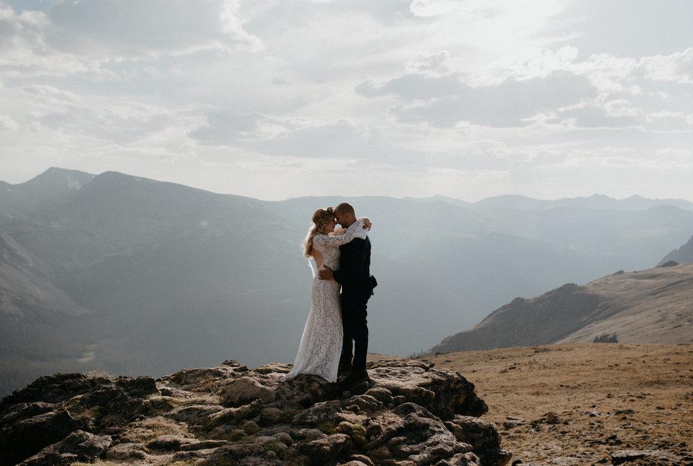 Colorado intimate wedding photographer, Alyssa Reinhold.
