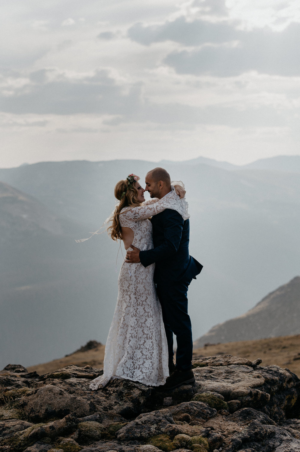 Colorado intimate wedding and elopement photography.