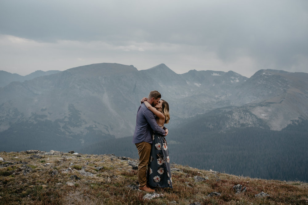 Colorado based mountain wedding photographer.