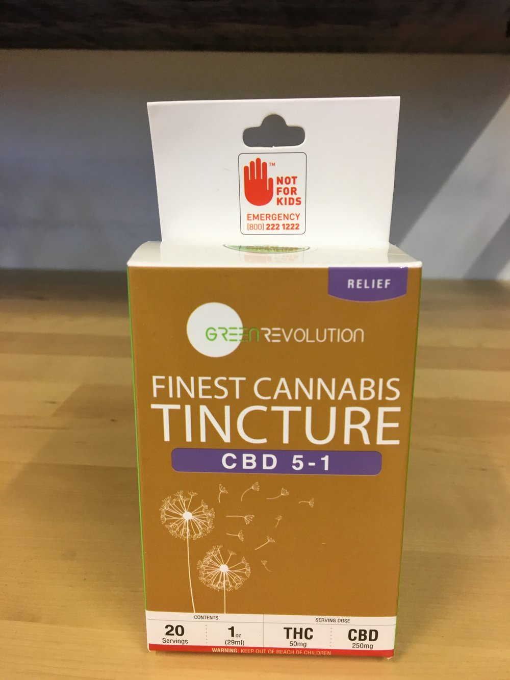 Green Revolution CBD Water Based Sublingual Tincture