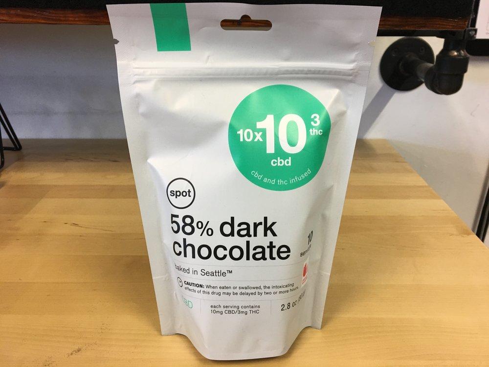 SPOT CBD Dark Chocolate High CBD Sweet Edible
