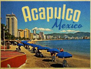 Acapulco Postcard weed cannabis