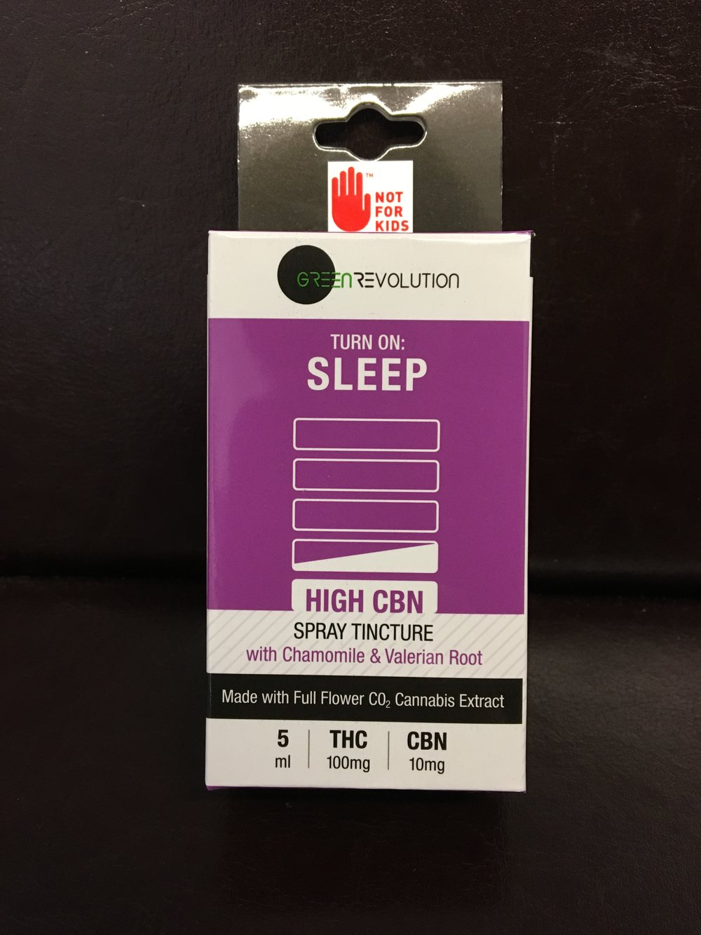Sleep Green Revolution CBN Cannabis Tincture