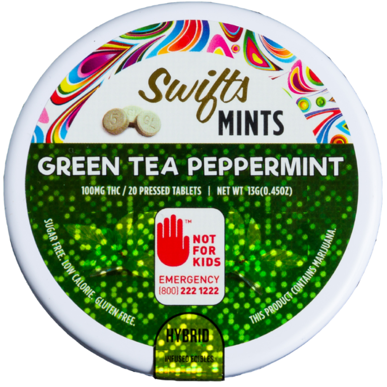 Swifts Green Tea Peppermints CBD Weedmints Hashtag Fremont Wallingford Seattle Redmond Legal Weed Pot Marijuana THC Sativa Indica Hybrid Center of the Universe Wellness Washington i502.png