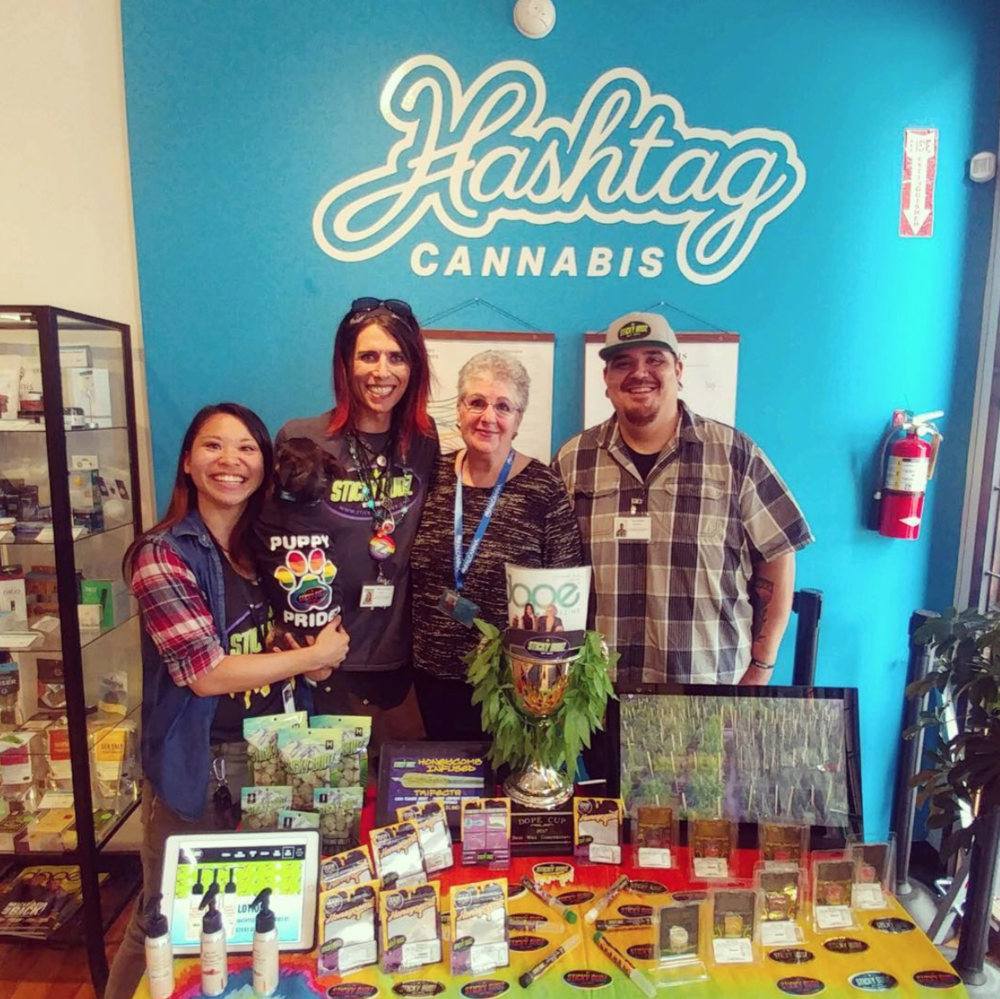 - In June 2018, Sticky Budz joined us in Fremont for a vendor day.