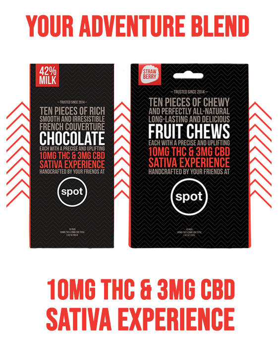 SPOT Adventure Blend Fruit Chews & Chocolates