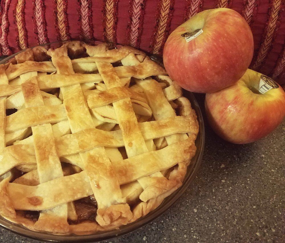 infused apple pie