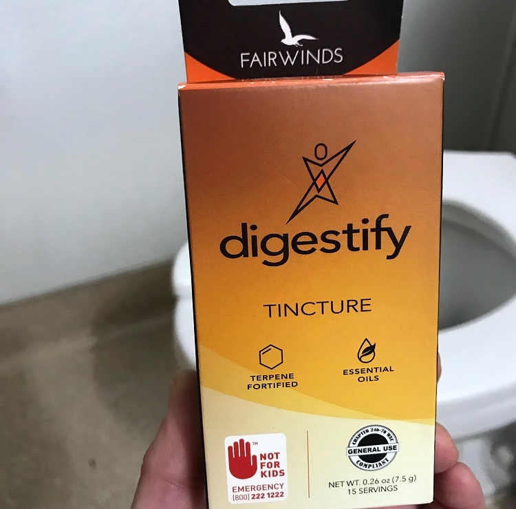 Fairwinds Digestify tincture ($36) - Part of the Essential tincture series by Fairwinds, their Digestify tincture is fortified with essential oils and terpenes. This high-CBD, high-THCA product is low in THC and was designed to help each of us live our best lives.