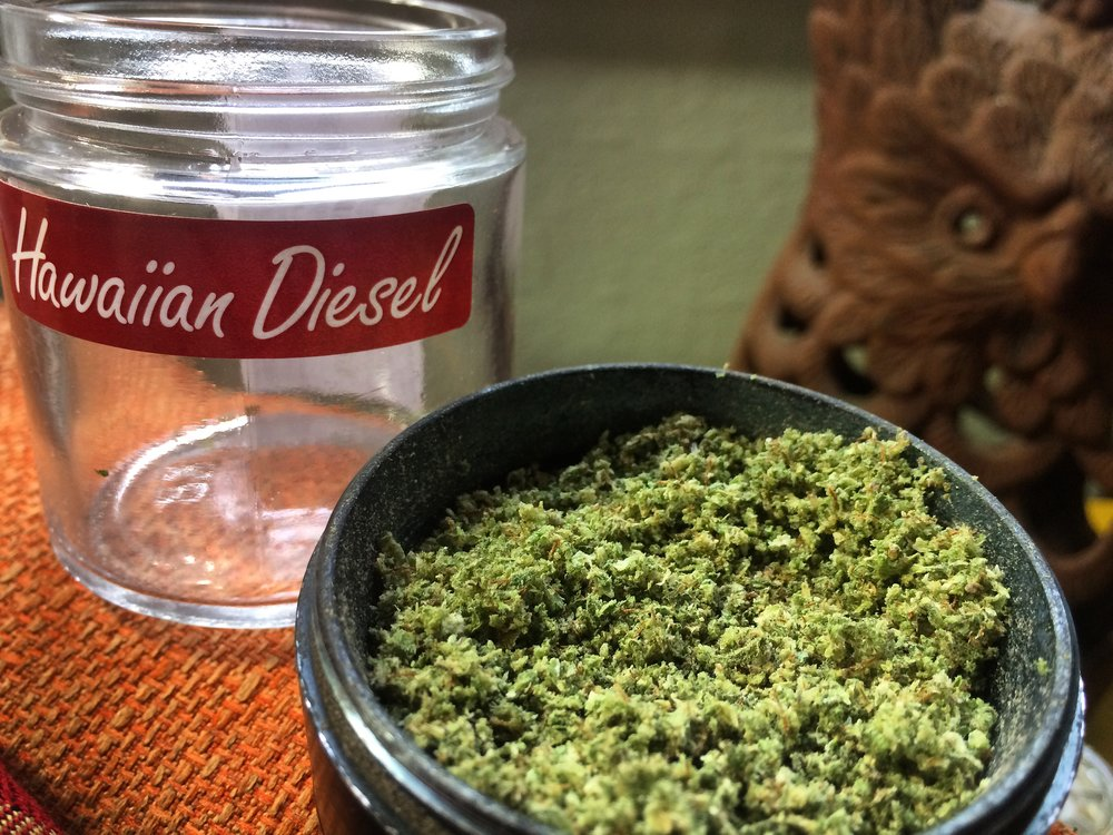 Dance off with Hawaiian Diesel. - Shake what your momma gave ya with a toke of some Hawaiian Diesel. Sociable and energetic, taking a drag or two off a Hawaiian Diesel pre roll will have you laughing it up and letting loose on the dance floor.