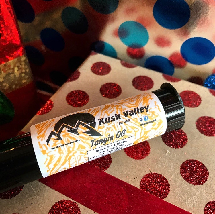 Toke a Tangie OG joint, and go on a jaunt. - Take a short stroll or run with Tangie OG from Kush Valley. One of our favorite and most delicious strains, it's known for its incredibly uplifting effects as well as euphoric and happy feelings overall, making it an excellent pick for a short jaunt and joint outside!