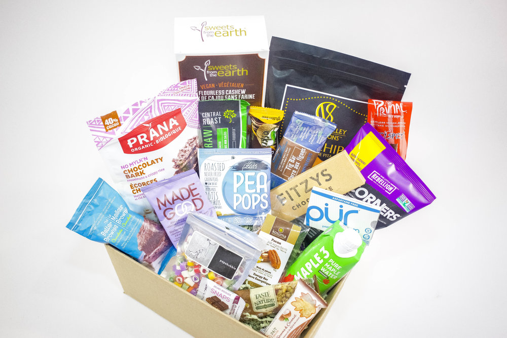 An example of one our BIG.Vegan.Boxes!