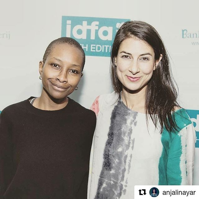 #Repost @anjalinayar ・・・ We met at the Sex and the City premiere in Nairobi, Kenya, almost a decade ago. . So nice to have turned that encounter into our own film, @silasmovie, and share this moment in the spotlight together. I'm grateful for our friendship, @ekuahawa. . #friends #friendship #womeninfilm #womenmakemovies #women #fashion #oseiduro #sexandthecity #satc @sarahjessicaparkerofficial #documentary #film @leonardodicaprio