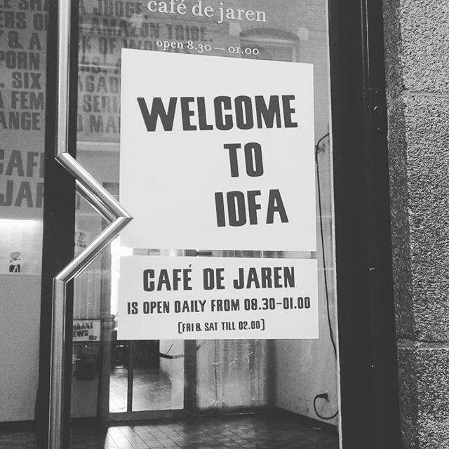 Idfa, what an amazing experience. Thank you!