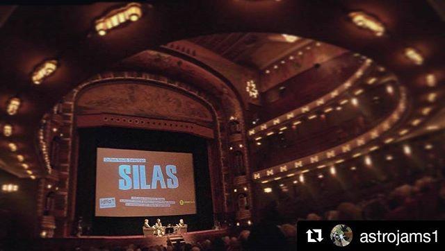 #Repost @astrojams1 ・・・ important film meets beautiful theater #silasmovie #ifda #soldout #humanizingdata @anjalinayar @ekuahawa @silasmovie